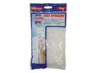 Faithfull FAITLSP2500 - Tile Spacer Long Leg 2mm Bag of 500
