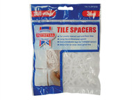 Faithfull FAITLSP3250 - Tile Spacer Long Leg 3mm Bag of 250