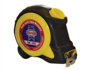 Faithfull FAITM525 - Auto-Lock Tape Measure 5m/16ft (Width 25mm)