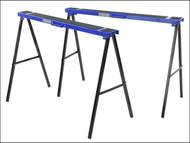 Faithfull FAITRESTLES - Steel Trestles(Set 2) Height 78cm x Length 100cm x Width 10cm