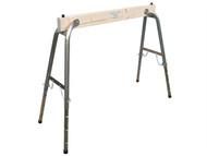 Faithfull FAITRESTLEWO - Steel / Wood Heavy-Duty Adjustable Trestle