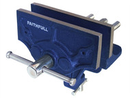 Faithfull FAIV34 - Home Woodwork Vice 150mm (6in) & Integrated Clamp