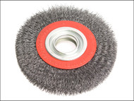 Faithfull FAIWBWW150 - Wire Wheel 150mm x 23 x 32mm 0.30mm Wire