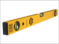 Faithfull FAIWF600 - Stabila Box Section Spirit Level 3 Vial 60cm (24in)