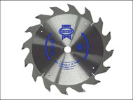 Faithfull FAIZ13616C - Trim Saw Blade 136 x 10mm x 16T Fast Rip