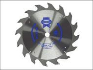 Faithfull FAIZ13624C - Trim Saw Blade 136 x 10mm x 24T Fast Rip