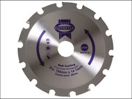 Faithfull FAIZ1841430N - Circular Saw Blade 184 x 30mm x 14T Nail Cutting NEG