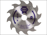 Faithfull FAIZ1901230 - Circular Saw Blade 190 x 16/20/30mm x 12T Fast Rip
