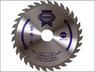 Faithfull FAIZ21032 - Circular Saw Blade 210 x 16/25/30/35 x 32T Fine Finish