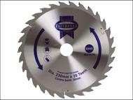 Faithfull FAIZ23030 - Circular Saw Blade TCT 230 x 30mm x 30T General-Purpose