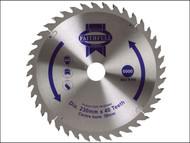 Faithfull FAIZ23040 - Circular Saw Blade TCT 230 x 30mm x 40T Fine Cross Cut