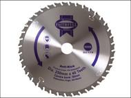 Faithfull FAIZ25040AK - Circular Saw Blade 250 x 30mm x 40T Anti Kick