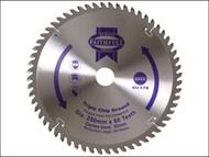 Faithfull FAIZ25060TCG - Circular Saw Blade 250 x 30mm x 60T TCG Fine Finish