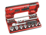 Facom FCMJLDBOX112 - 12 Point Socket Set 3/8in Drive