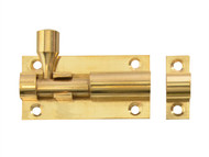 Forge FGEDBLTBR2 - Door Bolt - Brass 50mm (2in)