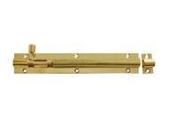 Forge FGEDBLTBR6 - Door Bolt - Brass 150mm (6in)