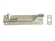 Forge FGEDBLTNAL4 - Door Bolt Necked - Aluminium 100mm (4in)