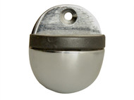 Forge FGEDSOVALCH - Oval Door Stop Chrome Finish 40mm