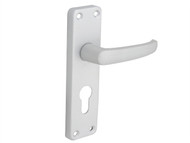 Forge FGEHEURECOAL - Handle Euro - Economy Aluminium 154mm