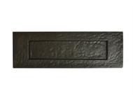 Forge FGELPLAANTBL - Letter Plate - Antique Black Powder Coated 250mm