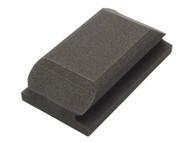 Flexipads World Class FLE56010 - Hand Sanding Block Shaped Black 70 x 125mm
