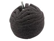 Flexipads World Class FLEBA360 - Scruff Ball 75mm / 3in Grey Ultra Fine