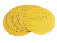 Flex Power Tools FLX260234 - Hook & Loop Sanding Paper Perforated To Suit WS-702 80 Grit Pack 25
