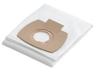 Flex Power Tools FLX385093 - Fleece Filter Bags (Pack of 5)