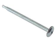 Forgefix FORBS48100ZB - Baypole Self-Drill Screw Phillips Wafer Head ZP 4.8 x 100mm Blister 5