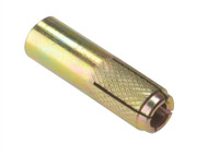Forgefix FORDROP12M - Drop In Anchors Zinc Yellow Passivated M12 x 50mm Bag 10