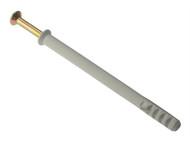 Forgefix FORHF10160M - Hammer Fixing & Plug M10 x 160mm Bag 10