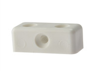 Forgefix FORMOD0B - Modesty Block White No.6-8 Blister 25