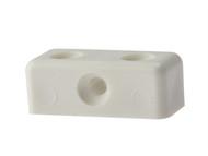 Forgefix FORMOD0G - Modesty Block White No. 6-8 Bag 100