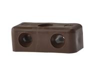 Forgefix FORMOD1G - Modesty Block Brown No. 6-8 Bag 100