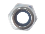 Forgefix FORNYLOC16M - Hexagon Nut & Nylon Insert ZP M16 Bag 10