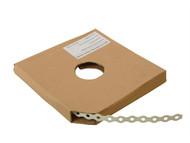 Forgefix FORPCBW12 - White Plastic Coated Pre-Galvanised Band 12mm x 0.8 x 10m Box 1