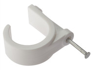 Forgefix FORPCMN28 - Pipe Clip With Masonry Nail 28mm Box 100