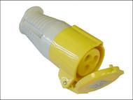 Faithfull Power Plus FPPCOUP110 - Yellow Socket 16 Amp 110 Volt
