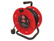 Faithfull Power Plus FPPCR25M - Cable Reel 25 Metre 13 Amp 240 Volt