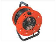 Faithfull Power Plus FPPCR50M - Cable Reel 50 Metre 13 Amp 240 Volt
