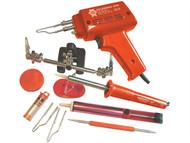 Faithfull Power Plus FPPSGKP - SGKP Soldering Gun 100 Watt & Iron Kit 30 Watt 240 Volt