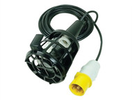 Faithfull Power Plus FPPSLLAMPL - Plastic Inspection Lamp (Bulb Not Included) & 3m Cable 110 Volt