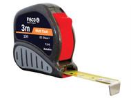 Fisco FSCTL3ME - TL3ME Tri-lok Tape 3m/10ft (Width 13mm)