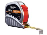 Fisco FSCTMC3ME - TMC3ME Chrome Tri-matic Tape 3m/10ft (Width 13mm)