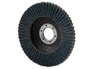 Garryson GARFD10040Z - DIY Zirconium Flap Disc 100mm x 16mm - 40 grit Coarse