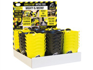 Gorilla Tubs GORYBMTDISP - Gorilla Yellow/Black Micro Tub Display 108 Piece