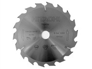 Hitachi HIT752456 - Circular Saw Blade 235 x 30mm x 18T Fast Rip