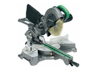 Hitachi HITC8FSEBL - C8FSEB 216mm Sliding Compound Mitre Saw & Blade 110 Volt