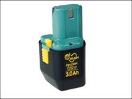 Hitachi HITEB1230H - EB 1230H Battery 12 Volt 3.0Ah NiMH