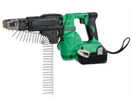 Hitachi HITWF18DSL - WF18DSL/JW Collated Screwdriver 18 Volt 2 x 4.0Ah Li-Ion Batteries